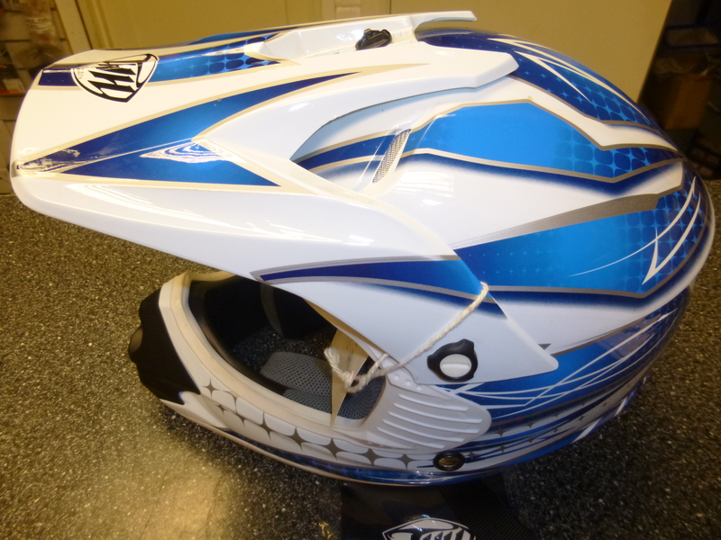 BLUE Youth THH Helmet