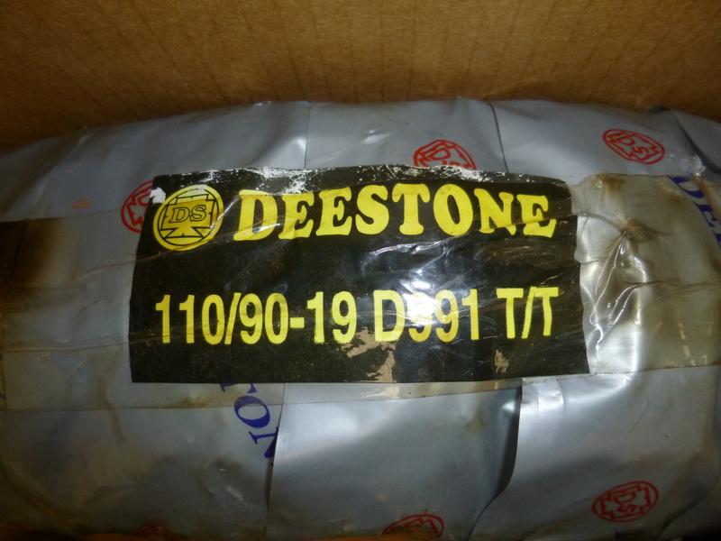 Thumbnail of Brand New Deestone Tyres