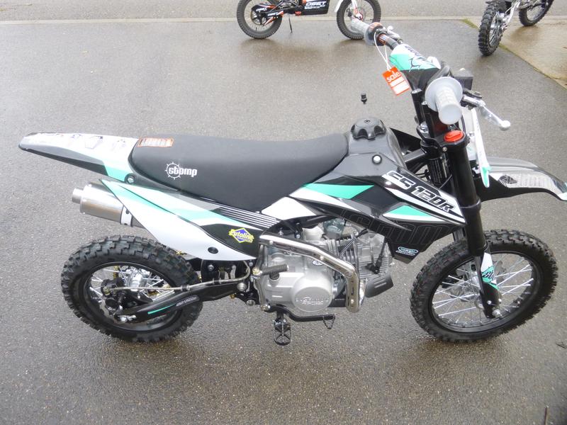STOMP SS120-R 120cc