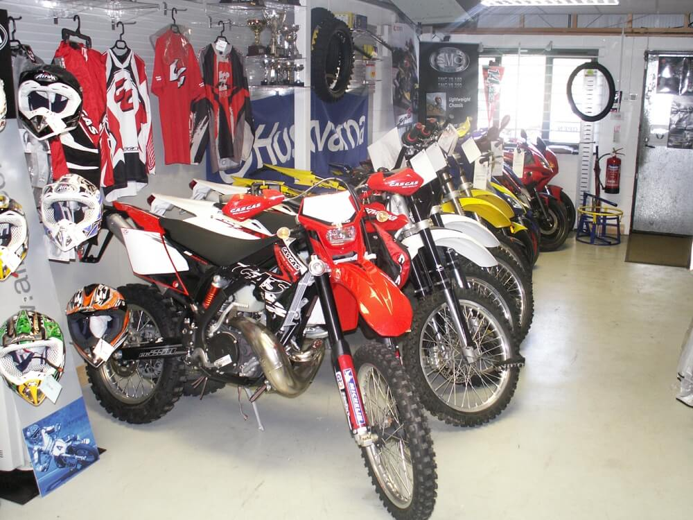 New and used offroad motorcycle sales