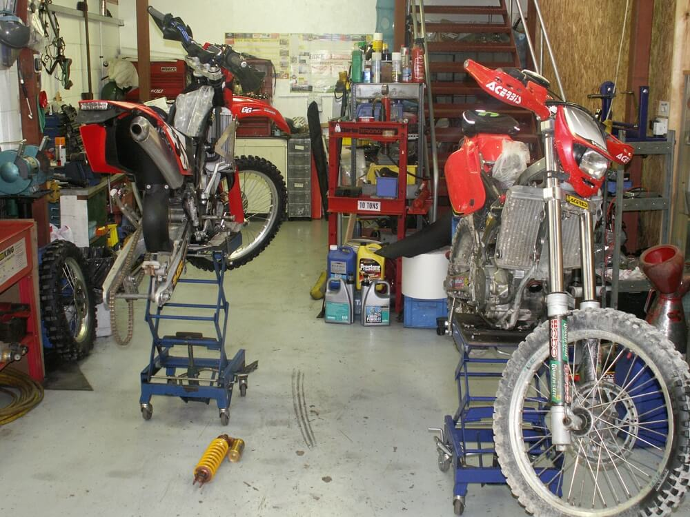Offroad motorcycle service wiltshire