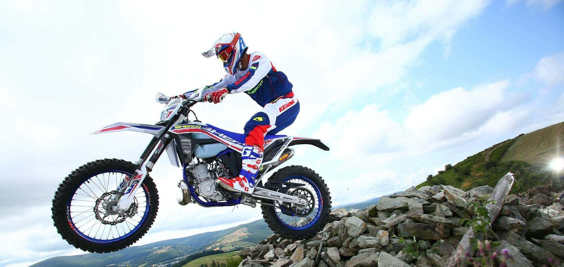 Sherco Enduro Motorcycle
